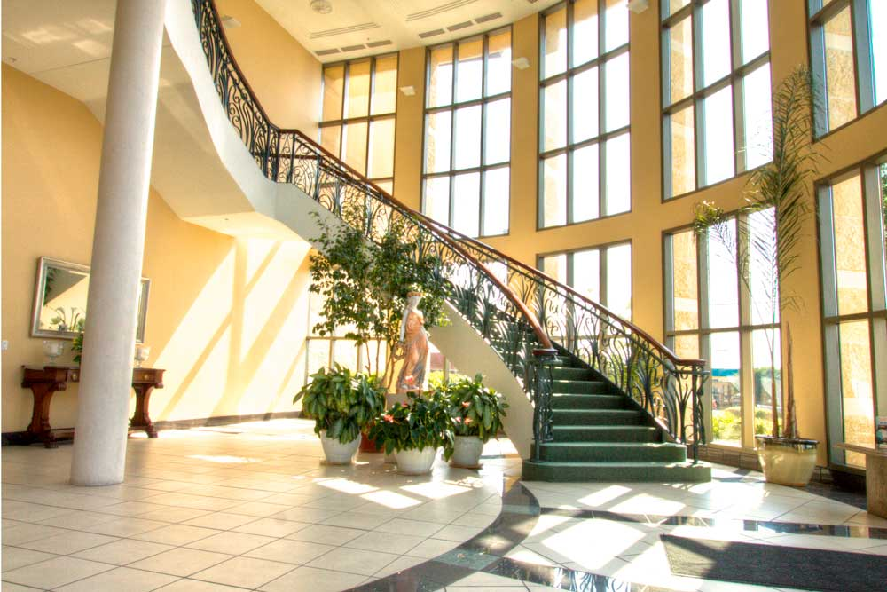 San Antonio Commercial Leasing Atrium