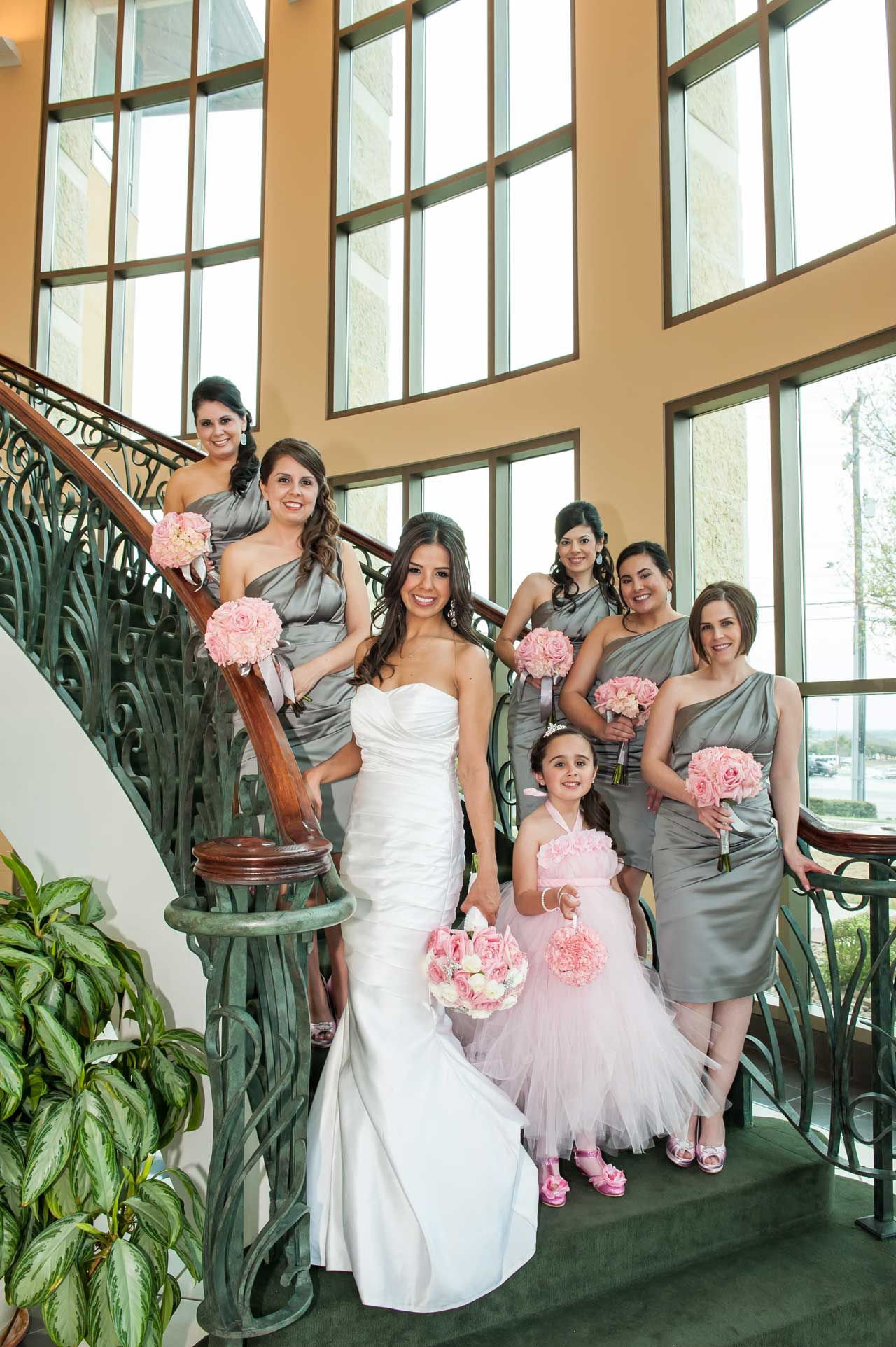 San Antonio Wedding Venue Bridal Stairs