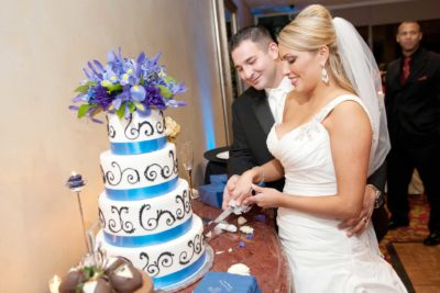 San Antonio Wedding Venue Cake Cutting